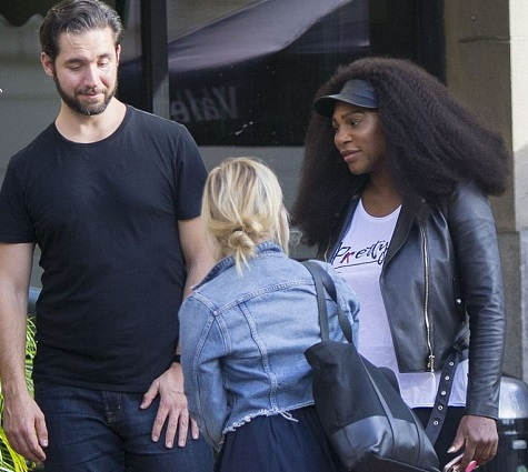 Photos: Serena Williams and her fiancé Alexis Ohanian spotted in New Orleans as they begin plans for their glamorous wedding