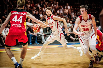 FIBA U20 Europe Türkiye - Almanya