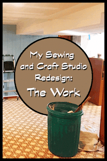 Sewing and Craft Studio Redesign: The Work | craft.outsideofablog.info
