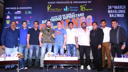 Four Pillars Nirman Group 18 Degrees LLP brings Da-Bangg The Tour to Pune