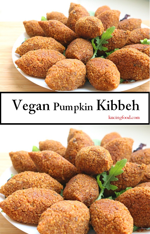 Vegan Pumpkin Kibbeh Recipe