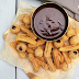 Cinnamon churros with a vegan chocolate ganache