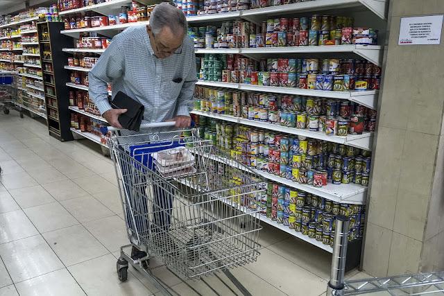 Canasta alimentaria familiar superó los dos millones de bolívares en agosto