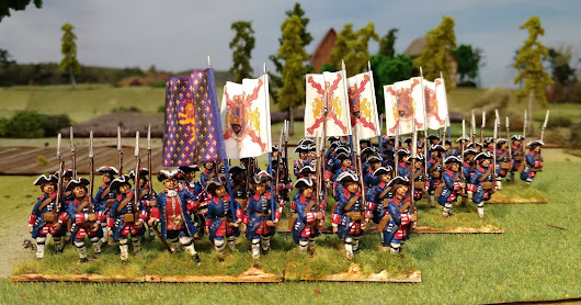 28mm WAS Spanish Guards