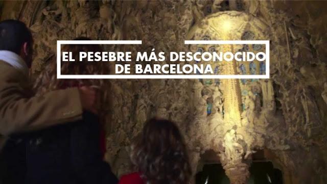 Visita con niños el pesebre más admirado y más desconocido de Barcelona esta Navidad