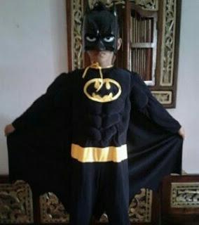 jual kostum anak superhero karakter batman