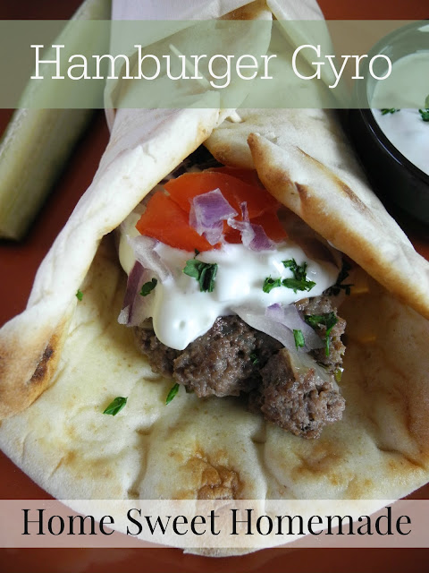 Hamburger Gyro