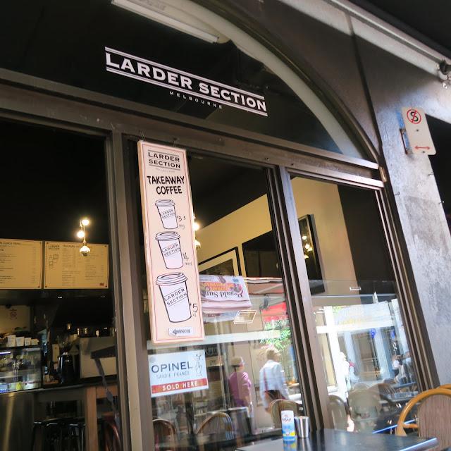 larder section, Melbourne, Australia