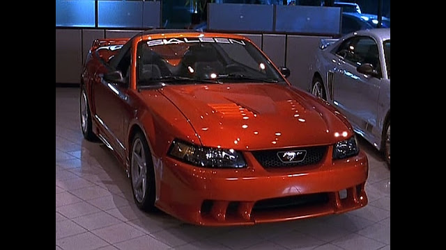 the oc, the o.c. luke ryan mustang dad's dealership saleen mustang s281 extreme