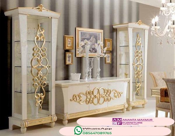 model desain lemari hias minimalis modern