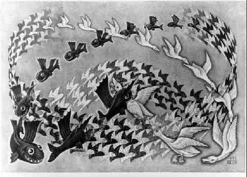 Predestinação - Escher, M. C. e suas geniais litogravuras