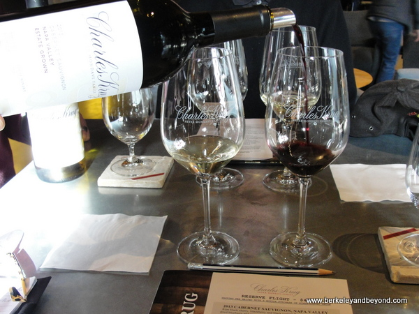 Reserve Flight Pairing at Charles Krug Winery in St. Helena, California