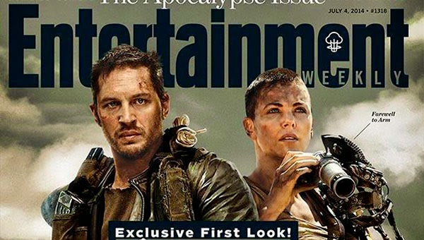 Tom Hardy y Charlize Theron en Mad Max: Fury Road