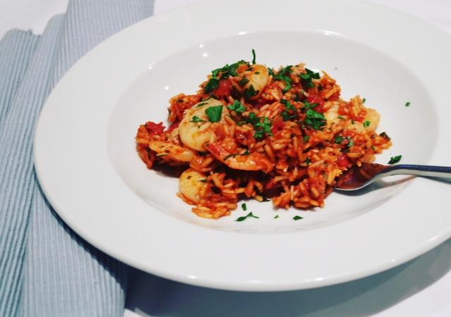 Prawn & Chorizo Rice