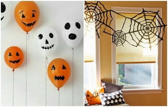 Decoraci n y comida para halloween ideas para este - Adornos de halloween ...