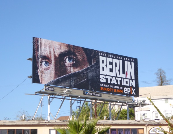 Berlin Station series premiere billboard