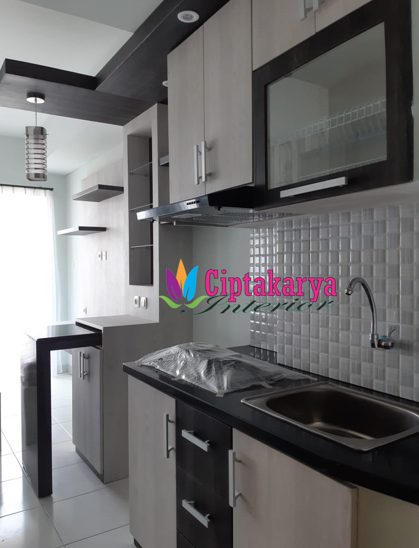 Model Kitchen Set Apartment Studio Keren Tahun 2019 Cipta Karya