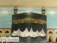 Masjid Megah dan Mewah dengan Lukisan Kaligrafi   Jasa Lukis Kaligrafi Profesional