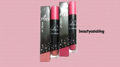 Pixy Lip Cream No.01 Chic Rose & No.05 Edgy Plum
