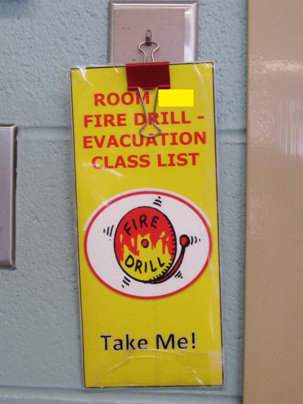 Teaching My Friends Fire Drills