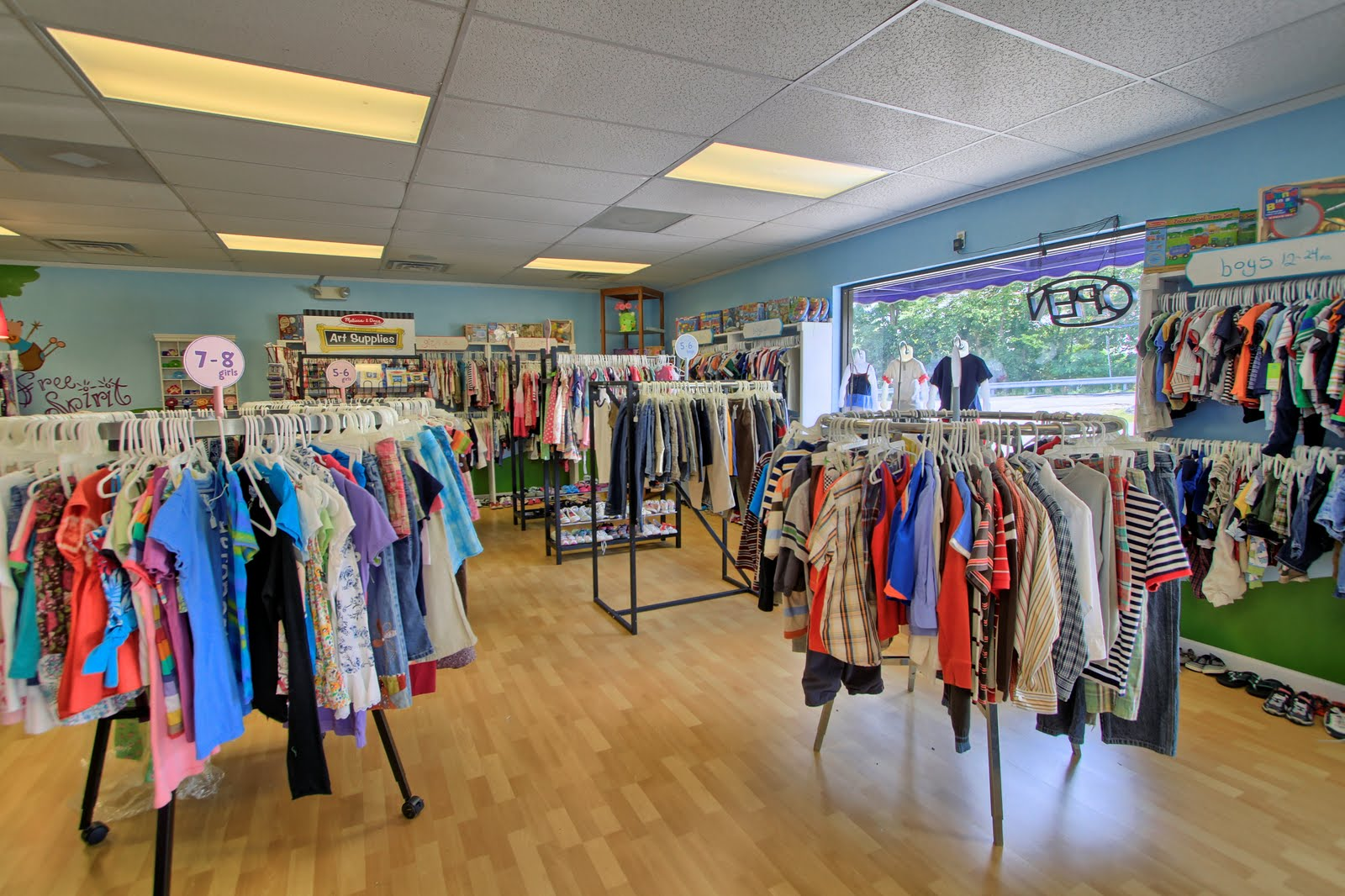 Place clothing store