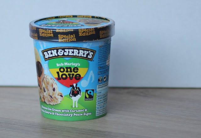 IMG 2821 - Snack Time! Ben & Jerry's Bob Marley's One Love