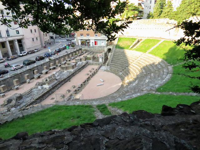 Trieste City points of interest: Roman Amphitheatre