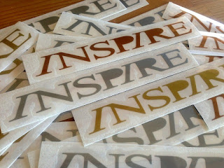 INSPIRE SURFBOARDS ステッカー
