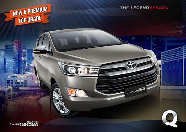 Harga All New Kijang Innova Q Spesifikasi Grand Avanza Veloz 1.5 Toyota Di Dealer Semarang
