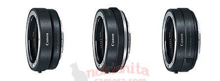 Адаптеры для установки объективов EF на Canon EOS R