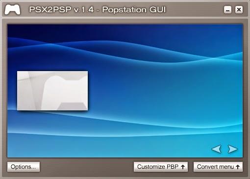 psx2psp v1.4 popstation gui