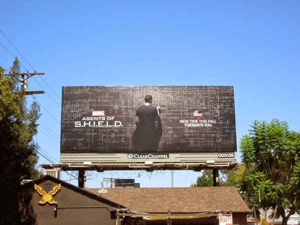 Marvel's Agents of SHIELD season 2 billboard