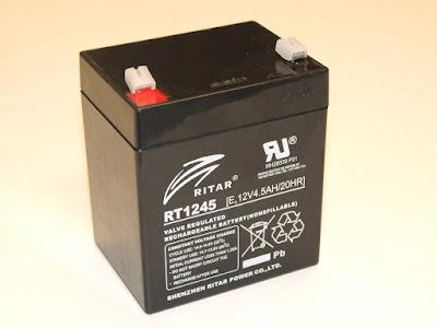 Bateri Bebas Penyelenggaraan