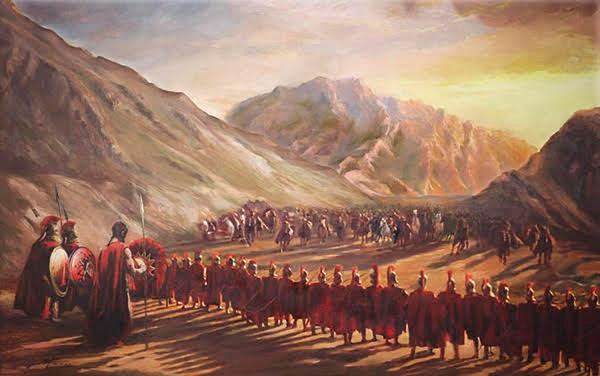 Δεν ήταν μόνο οι Σπαρτιάτες που πολέμησαν στις Θερμοπύλες αλλά και οι 700 γενναίοι Θεσπιείς....