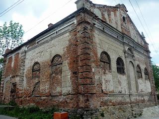 Старый Самбор. Львовская область. Синагога 1862 г.