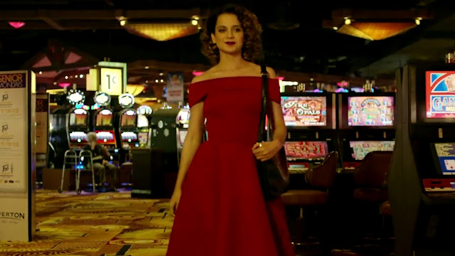 Kangana Ranaut Red Dresses HD Photo In Simnar