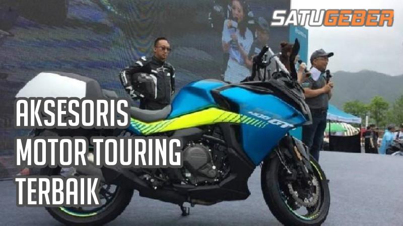 gambar aksesoris touring motor Vixion matic terbaik