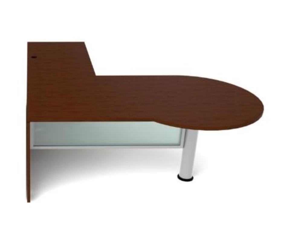 Cherryman Jade Series P Shaped L Desk