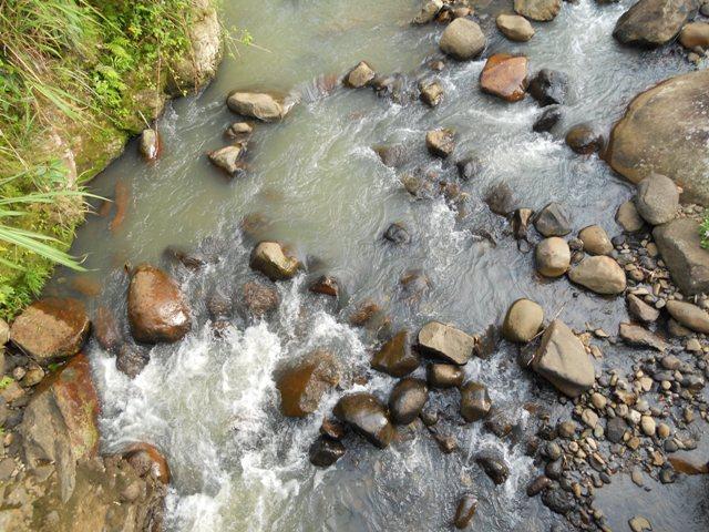 Aliran sungai di Manipi