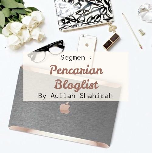 Pencarian Bloglist Aqilah