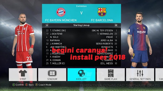 Cara Mudah Install Pro Evolution Soccer [PES] 2018 PC/ LAPTOP