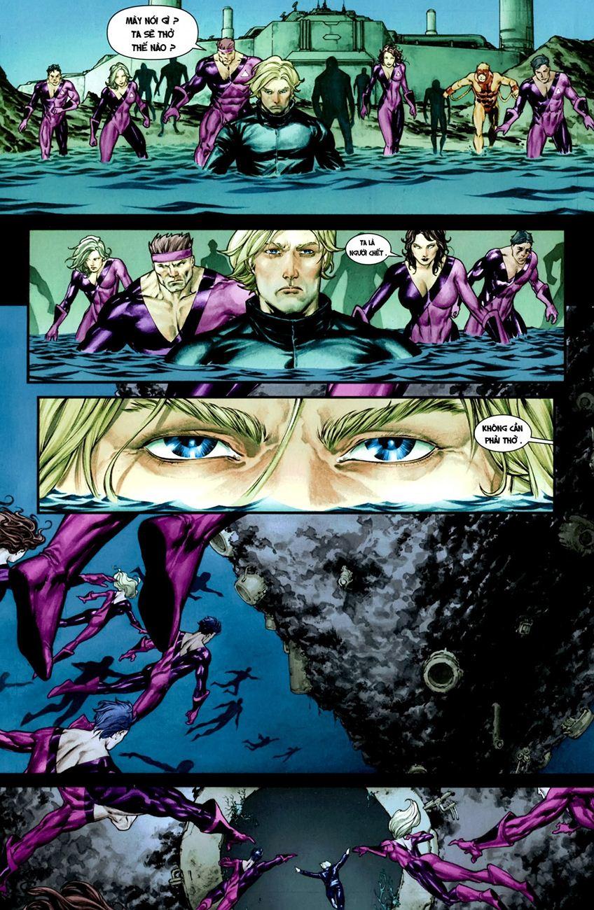 X-Men Necrosha chap 1 trang 33