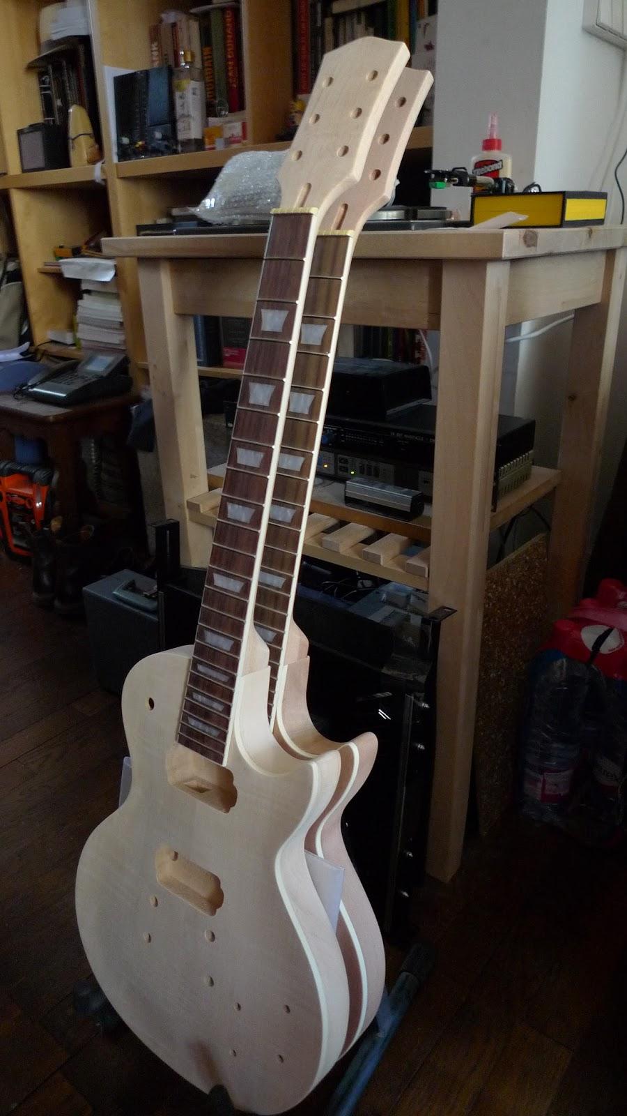 sr system audio kit diy guitare type les paul s chage et pon age. Black Bedroom Furniture Sets. Home Design Ideas