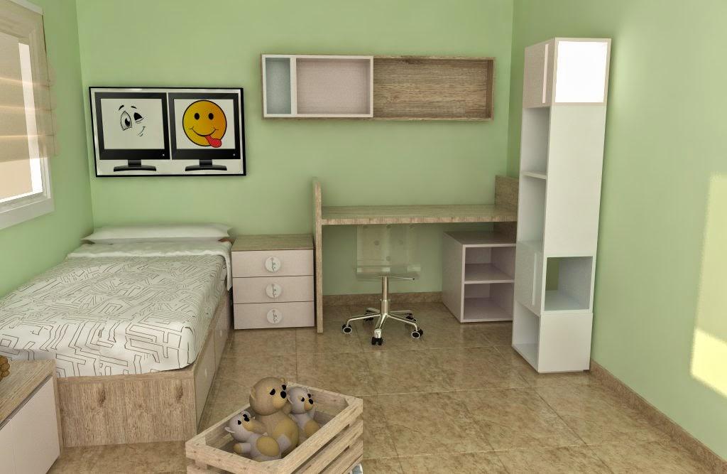 Progetti 3d di camerette ros mobili ros for Progetti 3d