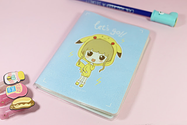 Let's Go Mini Notebook january girl unboxing video cute little items adorable toys review