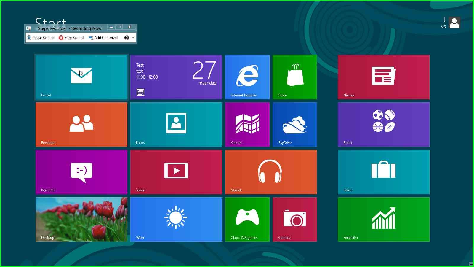 Google Windows 8 Tile