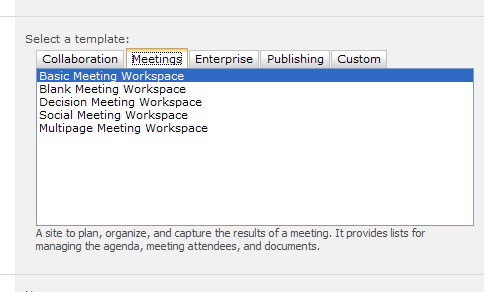 Per aspera ad astra comparing sharepoint 2010 and 2013 for Sharepoint 2013 meeting workspace template