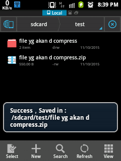 Compress File di Android