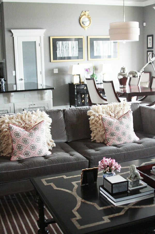 Gray Couch Living Room Designs: Or Any Color Really
