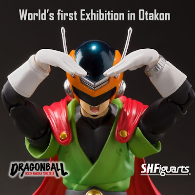"Anunciada la S.H.Figuarts de Great Saiyaman de ""Dragon Ball Z"" - Tamashii Nations"